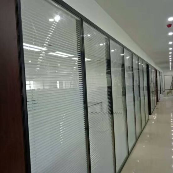 Blind Office Partitioning System Glass Walls Partitions for Office pictures & photos