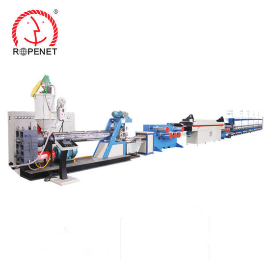 PP Danline Yarn Extruder Machine for Rope Making