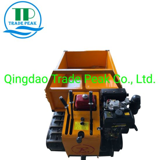 1 Ton All Hydraulic Self Loading Mini Dumper for Agriculture