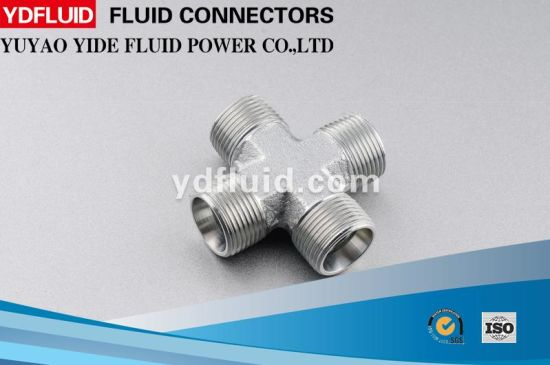 China Supplier Wholesale Carbon Steel 4-Way Cross Galvanized Pipe Fitting