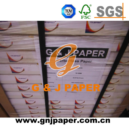 48GSM 50GSM 55GSM Carbonless Paper in CB CFB CF pictures & photos