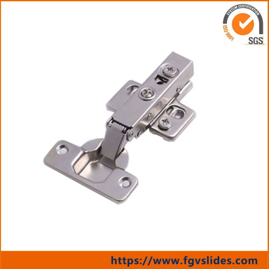 China Fgv Easy Fix Half Overlay Hydraulic Cabinet Hinges