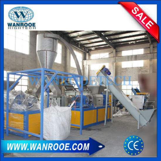 PP Woven Bags Squeezing Granulating Machine pictures & photos