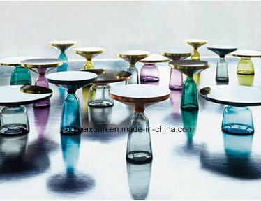 Small Tea Table Nordic Design Interior Glass Tea Table Bell Table FRP Custom Furniture (M-X3741) pictures & photos