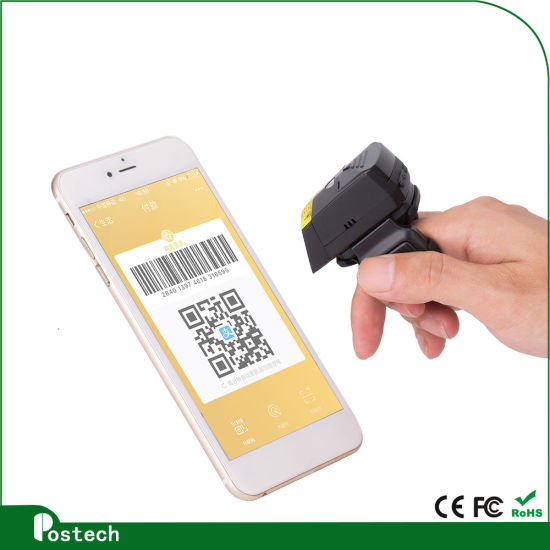 Fs02 Bluetooth Wearable Ring 2D PC Table Programmable Barcode Scanner Support Ios Android pictures & photos