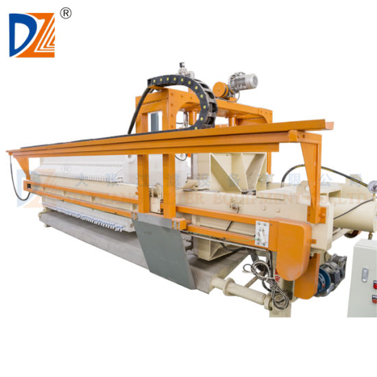 Automatic Filter Press Machine with Auto-Cloth Washing Device