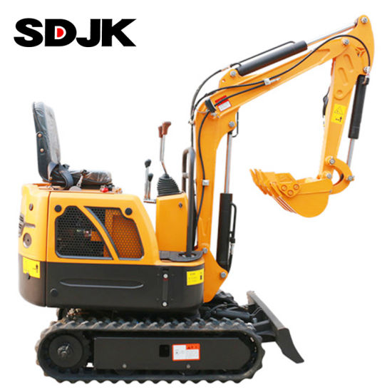 0.8 Ton New China Small Hydraulic Bucket Crawler Mini Bagger Excavator with Cheap Factory Price pictures & photos