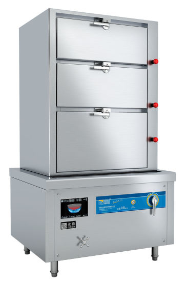 Best Seller New Type Three Doors Electric Induction Seafoodu0026Rice Cabinet  Steamer