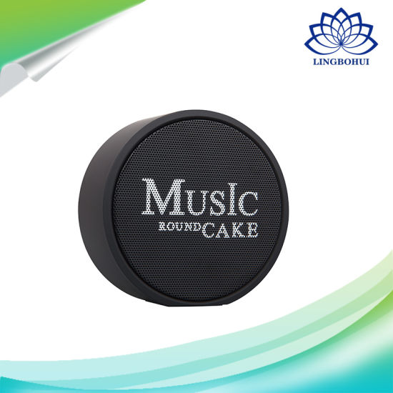 Music Round Cake portable Bluetooth Wireless Speaker Box pictures & photos