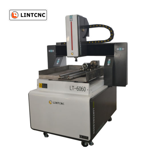 China 1 5kw 2 2kw Spindle New 6060 PCB CNC Machine 4axis 600