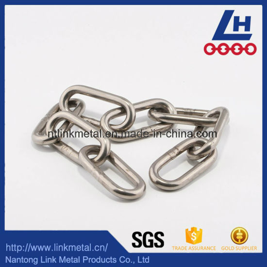 Japanese Standard 304 Stainless Steel Link Chain