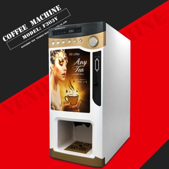 Food Grade Hot Espresso Coffee Vendor Machine F303V