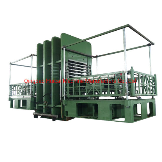 Hot Sale Huicai Rubber Sheet Vulcanizing Press Machine with Ce