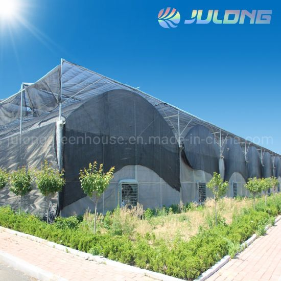 Prefabricated Building Material Greenhouse with Greenhouse Agricultural Equipment