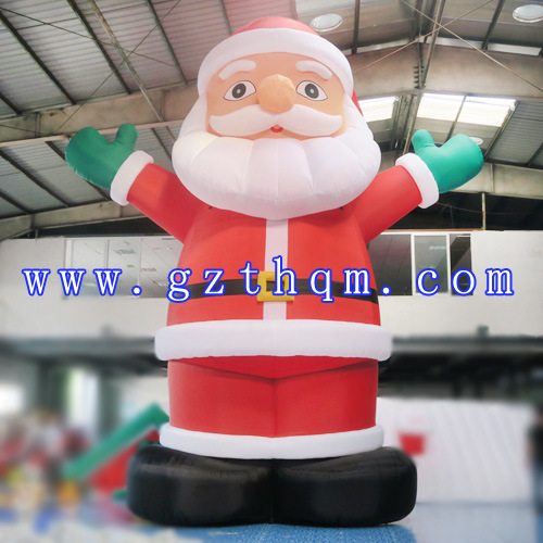 inflatable santa clause for advertisingoutdoor christmas decorations large lowes christmas