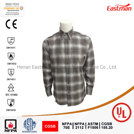 Oil Field and Gas Station Used Nfpa 2112 Fr Shirt