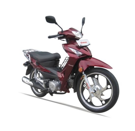 100/110cc Cub Alloy Wheel One or Double Clutches Motorcycle (SL110-D)