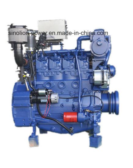 Marine Diesel Engine 4 Cylinder 70kw 1800rpm
