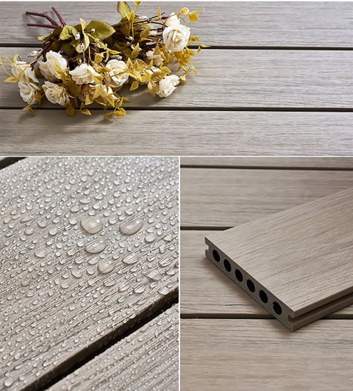 Easily Installed WPC Outdoor Flooring, Composite Decking, Waterproof WPC Decking