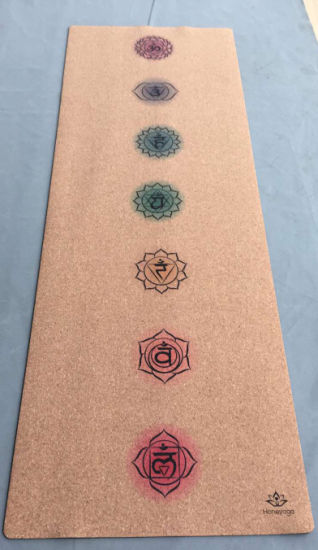 The Best Cork Yoga Mat for Hot Yoga, Light Weight Travel Yoga Mat pictures & photos