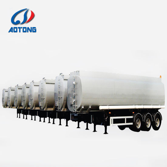 China 2 Axles 35000 Liters Water Tank Trailer Truck for Sale - China
