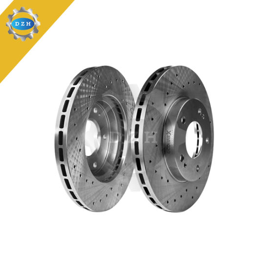 Auto Spare Parts Brake Disc with Ts16949