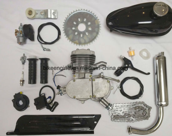 Sliver Color Gas Powered Bike Kit 80cc pictures & photos