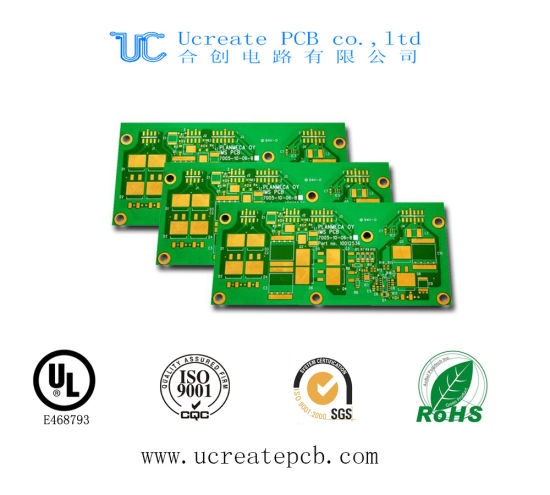 China Printed Circuit Board with UL (US&Canada) ISO9001 RoHS