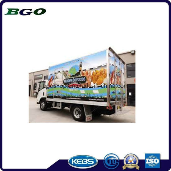 PVC Self Adhesive Reflective Film Digital Printing (80mic 120g relase paper) pictures & photos