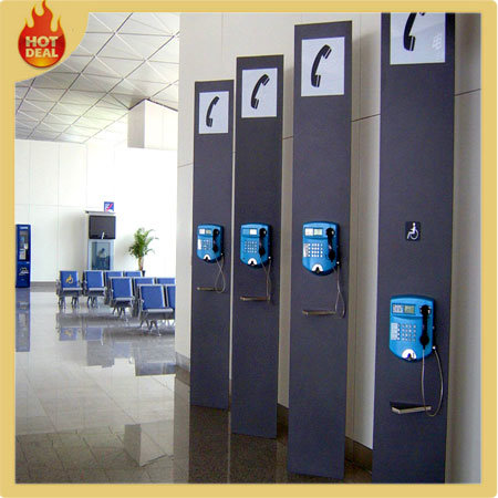 Airport Wholesale Metal Telephone Booth System