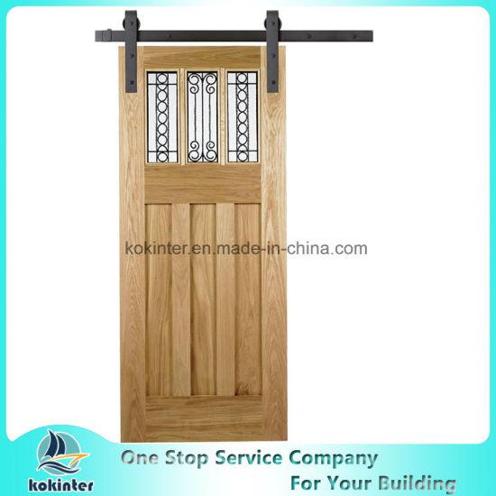 Sliding Barn Door Mould Door Solid Wood Door PVC Door Single/Double  sc 1 st  DONGYING SHUANGKAI IMPORT EXPORT CO. LTD. & China Sliding Barn Door Mould Door Solid Wood Door PVC Door Single ...