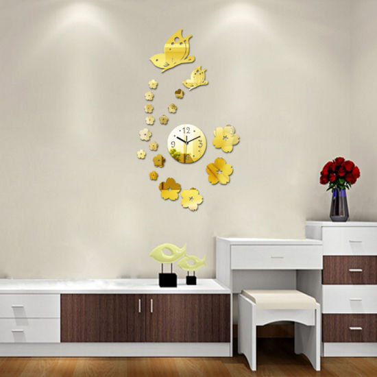 Painted Pictures Of Flowers 3d Wall Decorative Clock Large Decorative Wall Clocks China Painted Pictures Of Flowers And 3d Wall Decorative Clock Price Made In China Com