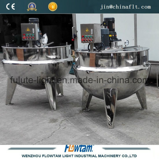 Stainless Steel Tilting Electric Steam Heating Cooking Jacket Kettle (QJ)