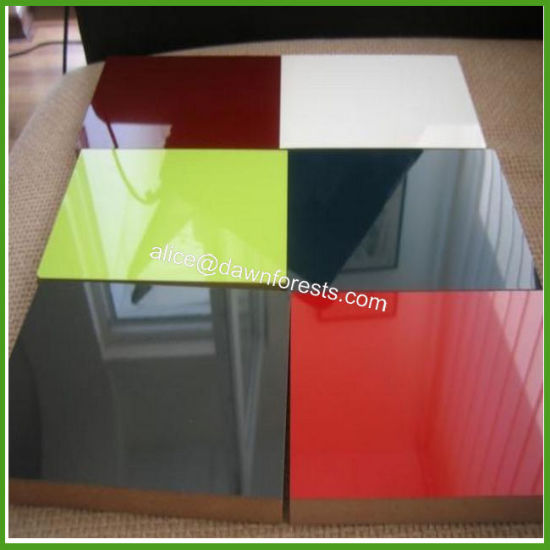 E1 Grade 16mm White Color/Any Color HPL Plywood for Furniture Using pictures & photos