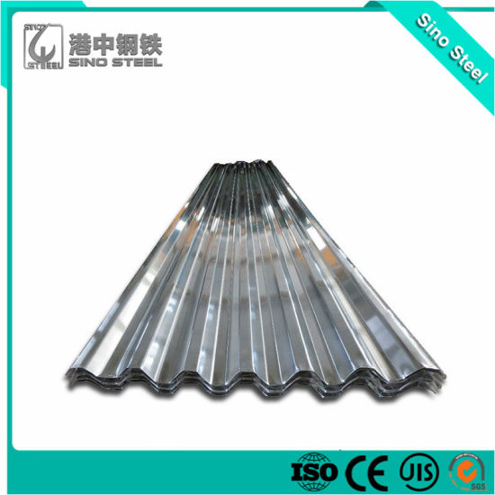 ASTM A653 Hot Dipped Zinc Coated/Galvanized Corrugated Steel Roofing Sheet