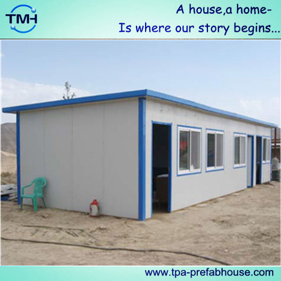 Steel Structure Construction House Design for Labor Camp pictures & photos