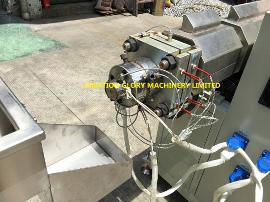 Plastic Extruder for Making Double Lumen Medical Pipe pictures & photos