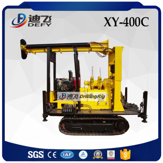 Core Water Well Borehole Drilling Rig Machine Rotary Type