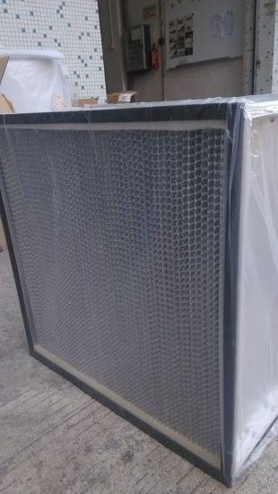 Supplier Separator High Temperature 99.99% HEPA Filter