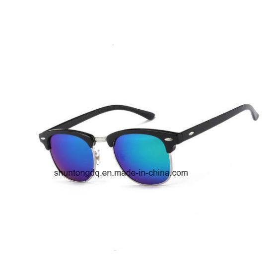 e2b1bad97d Half Metal High Quality Sunglasses Men Women Brand Designer Glasses Mirror Sun  Glasses Fashion Gafas Oculos De Sol UV400 Classic