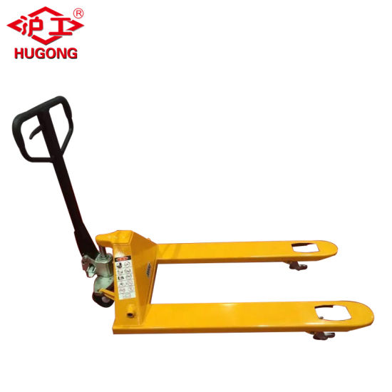 2015 Min 1.0t China Manual High Hydraulic Lift Hand Pallet Truck with Scale pictures & photos
