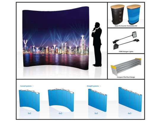 Customized Portable Pop up Display pictures & photos