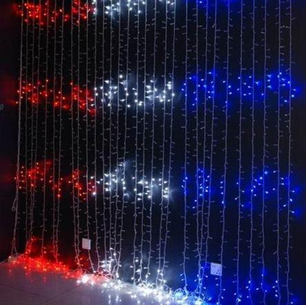 Waterfall Decorative Outdoor Party LED Curtain Lights pictures & photos