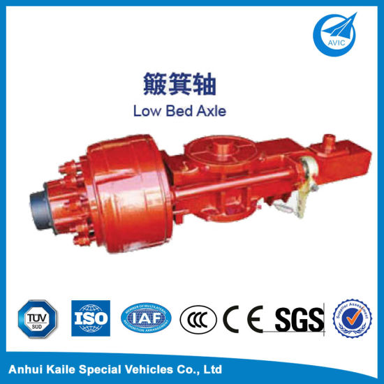Low Bed Axle for Semi Traier