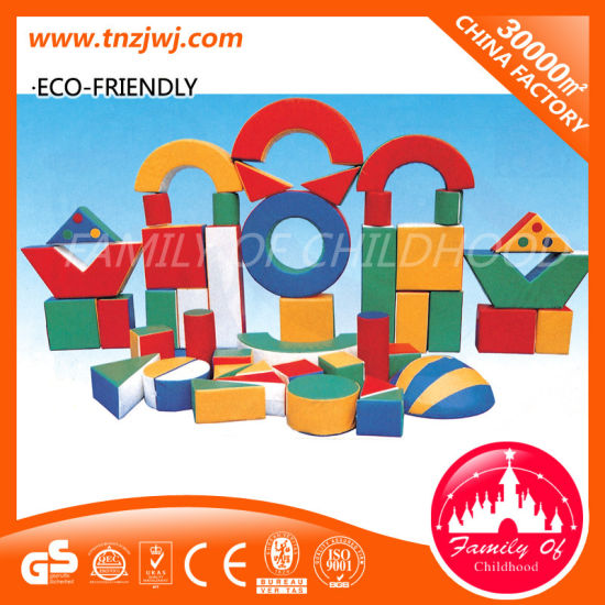 Indoor Games Playground Soft Toy Plastic Bricks for Sale pictures & photos