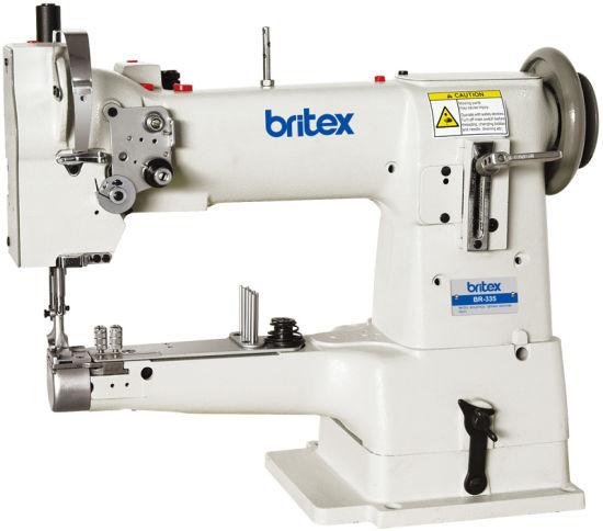 Br-335 (britex) Single Needle Unison Feed Cylinder Bed Sewing Machine