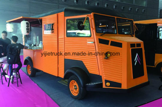 Vintage Catering Van Fast Food Van For Sale