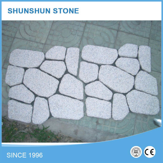 Outdoor Cube Unpolished Granite Paving Stone pictures & photos