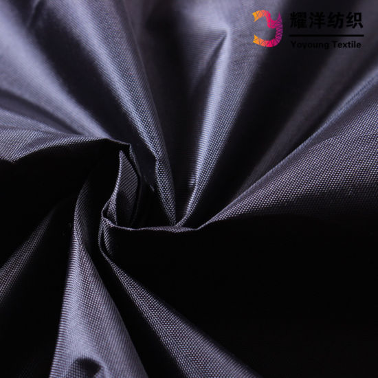 210d Polyester Oxford Fabric with PA Coating for Linings