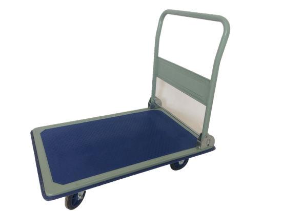 Cheap Steel Warehouse Foldable Platform Handtrolley